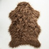 Brown Faux Fur Sheepskin