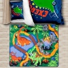 Colourful Kids Dinosaur Land Rug