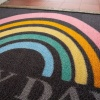 Rainbow Printed Washable Doormat