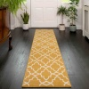 Yellow Trellis Runner - Soho