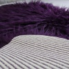 Purple Faux Fur Sheepskin