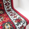 Red Traditional Stair Carpet Runner - Cut to Measure