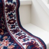 Blue Traditional Stair Carpet Runner - Cut to Measure