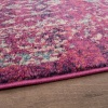 Distressed Traditional Runner Rug - Vivid