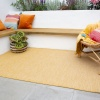 Yellow Mottled Indoor | Outdoor Runner Rug - Patio