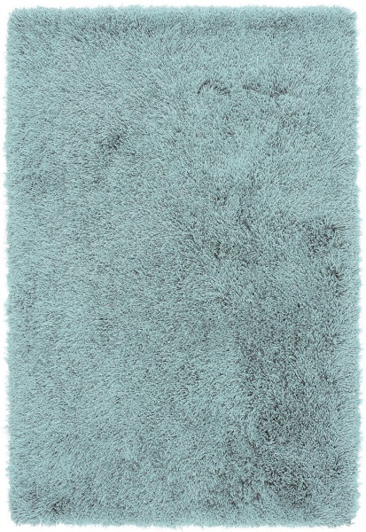 Modern Duck Egg Soft Shaggy Rug