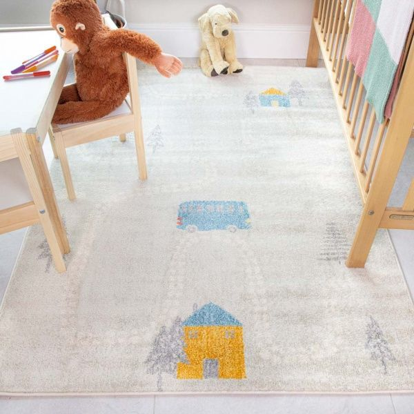 Countryside Kids Roads Rug - Bombay