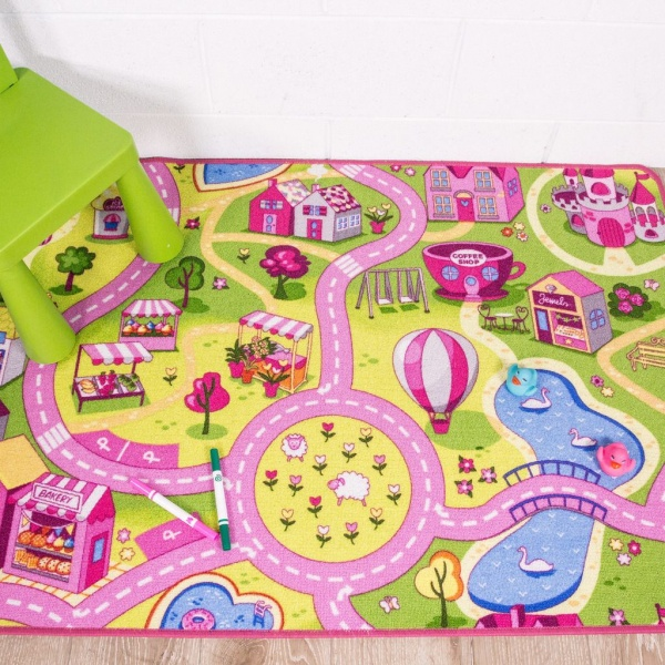 Kids Funfair Printed Rug