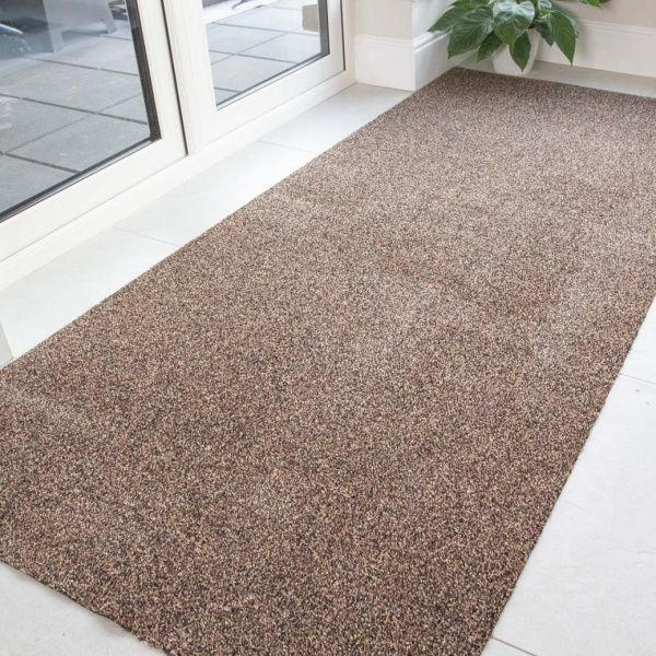 Brown Durable Eco-Friendly Washable Mats - Hunter - Cut to Measure