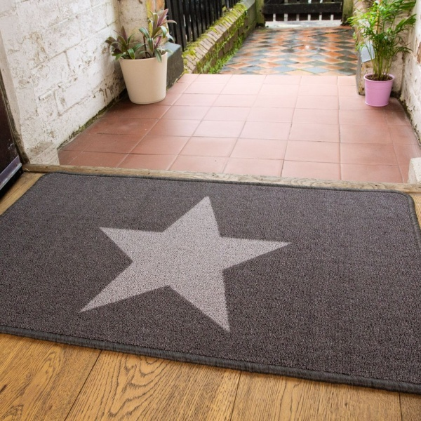Star Printed Washable Doormat Luna Kukoon Rugs Official Online Store