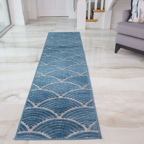 Coastal Outdoor Runner Rug - Zen