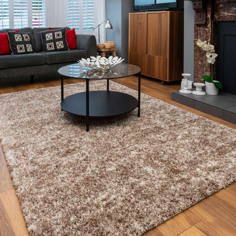 Light Brown Mottled Gy Living Room, Rugs For Living Room